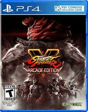 STREET FIGHTER V 5 ARCADE EDITION PS4