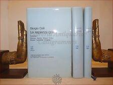 STORIA della FILOSOFIA - COLLI, Giorgio: LA SAPIENZA GRECA I-II-III Adelphi