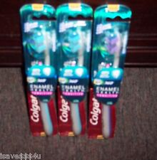 3 COLGATE 360 ENAMEL HEALTH SENSITIVE EXTRA SOFT TOOTHBRUSH POLISH/WHITENING CUP