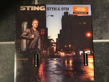 Sting 57th & 9Th LP Vinyl New/Sealed