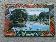 POSTCARD,FROM MILTON GLAZETTE SERIES.OF  MEETING OF WATERS, HUNTLY.NOT POSTED