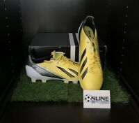 Adidas Adizero F50 TRX HG SYN - Yellow/Black/Green UK 11, US 11.5, EU 46