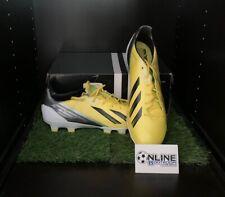 Adidas Adizero F50 TRX HG SYN - Yellow/Black/Green UK 11, US 11.5, EU 46