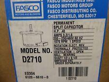 Fasco D2710 Motor .40 HP 200-230/460V 60Hz 1075 RPM 1 Speed