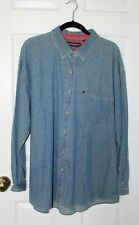 Women's long-sleeved button down shirt. Collared. Size 2X