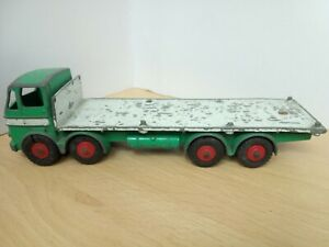Y575-DINKY No935 LEYLAND OCTOPUS FLAT TRUCK WITH CHAINS