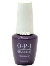 Opi GelColor New Gel Nail Polish Soak-Off Gc H73- Hello Hawaii Ya?