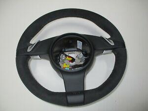 New Genuine Porsche 911 997 987 PDK Sport Plus Display Alcantara Steering Wheel