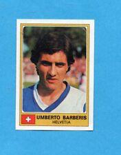 EUROFOOTBALL 76/77-PANINI-Figurina n.125- BARBERIS -SVIZZERA-Recuperata