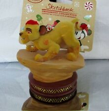 Disney Store Sketchbook Ornament 2016 Lion King NWT!