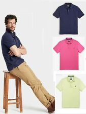 Joules Woody Classic Mens Polo Shirt in Neon Lime, Polo Pink or New French Navy