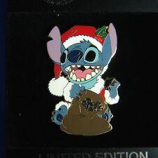 Santa Stitch Jumbo Disney Shopping Pin LE 300 OC Holiday