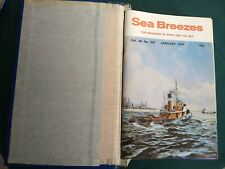 Sea Breezes Magazine – Full Year For 1974 (12 Editions)
