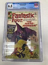 Marvel Comics Fantastic Four 21 CGC Graded 6.5
