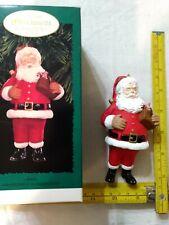 "Hallmark ""Santa"" (1996). Keepsake Ornament Collector's Club."