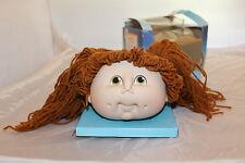 Original Doll Baby Head Girl PIgtails Fibre Craft 1984 Hazel Eyes Dimples