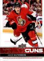2012-13 Upper Deck Young Guns Jakob Silfverberg Rookie #238