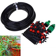 Diy Micro Drip Irrigation System Lawn Sprinkler 25M Watering Garden Hose Timer