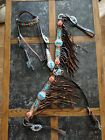 Cowboy couture Breast Collar And Matching Headstall