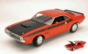 Dodge Challenger T / À 1970 Orange/Black 1:24 Model 4029OR Welly