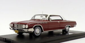 Goldvarg 1/43 Scale GC-013B - 1962 Buick Electra - BurgundyWhite Roof 1 Of 210