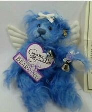*New* Blue Belle Annette Funicello Mohair 21st Angel Bear Collectable
