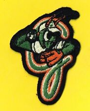 GREENSBORO GRASSHOPPERS - MINOR LEAGUE BASEBALL - EMBROIDERED PATCH