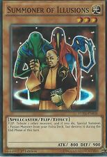 YU-GI-OH CARD: SUMMONER OF ILLUSIONS - SUPER RARE - FUEN-EN038 1ST EDITION