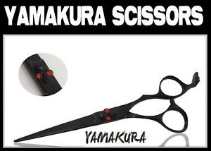 Hair Scissors Black 6.0 Yamakura skull jewellery come cloth, oil and box SK01