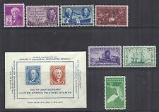 US 1947 Complete Commemorative Year Set of 8 w/ SS 948 - 945-952 MNH*