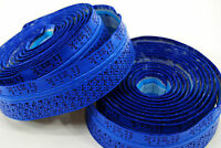 Fizik Road Bike Bar Tape Performance Tacky Blue 3mm w/ Logos