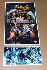 Wonder Woman Armor Sword Poster David Finch Richard Friend Brand New Jim Lee