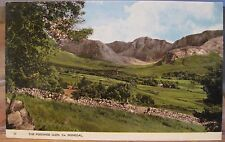 Irish Scenes Postcard POISONED GLEN Dunlewy County DONEGAL Ireland AE Dickson 15
