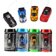 Lot of 4 WL toys Coke Can Mini RC Radio Remote Control Speed Micro Racing Car