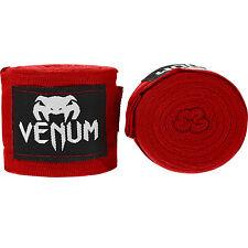 Venum Kontact Boxeo mano Wraps 4M Stretch Combate Muay Thai MMA Rojo De Cinta