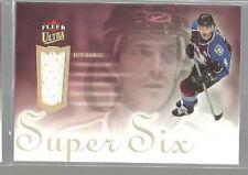 2005-06 Ultra Super Six Jerseys #SSJJS Joe Sakic (ref36615)