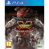 Street Fighter V (5) Arcade Edition (PS4) New and Sealed