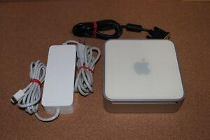 Apple Mac Mini 2,1 A1176 2007 Core 2 Duo 2 Ghz CPU 3GB RAM 120GB HDD