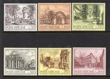 VATICAN CITY MNH 1976 SG665-670 ARCHITECTURE