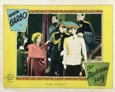 OLD MOVIE PHOTO Mysterious Lady Lobby Card Greta Garbo Gustav Von Seyffertitz