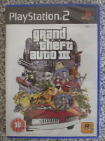 Grand Theft Auto 3 (III) For PAL PS2 (New & Sealed)