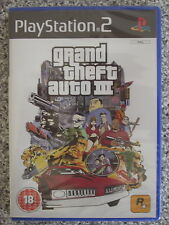 GRAND THEFT AUTO 3 (III) per PAL ps2 (nuovo e sigillato)