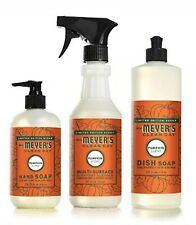 Mrs Meyers Clean Day Spiced Pumpkin Kitchen Basics Set Limited Edition