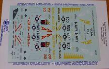 Microscale Decal 1:48  #MS48-1046 / F/A-18E/F Super Hornets: VF A-27 &VF A-11