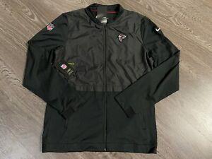 Nike On-Field NFL Atlanta Falcons Coach Jacket Dri-Fit Men's M NEW 907654-010