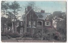 Dorset; Priory Mansions, Bath Rd, Bournemouth PPC, 1905 Local PMK By Photochrom