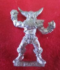 Warhammer citadel metal 1994 BLOODBOWL NORSE LINEMAN 1