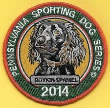 Pa Fish Game Commission New 2014 Pennsylvania Sporting Dog Boykin Spaniel Patch
