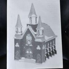 Dept 56 Snow Village®  ST. LUKES CHURCH - BRAND NEW NEVER DISPLAYED