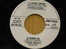 Connee Boswell 45 ep Japanese Sandman / Giannina Mia +2 Mighty Zebra ~ VG++ pop